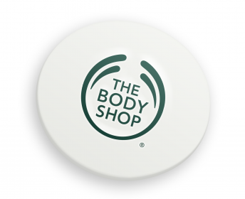 The Body Shop Biodegradable badge