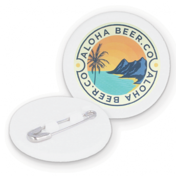 Aloha Beer Recycled Badge