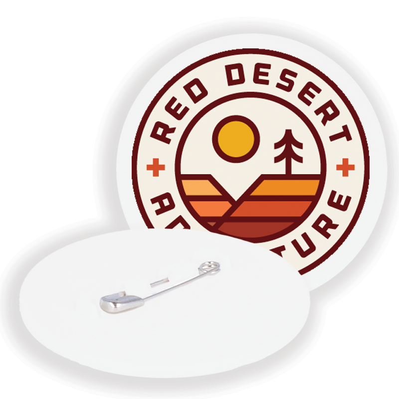 Red Desert Recycled Badge